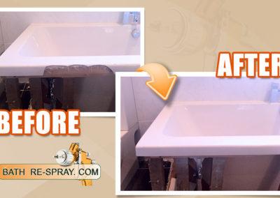 Bath side repair