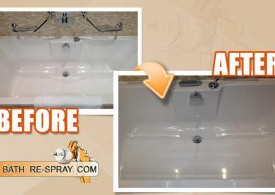 bath respray Slip Resistant
